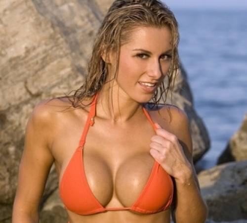 big breast implant image