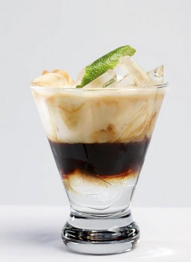 Kóksmjólkur espresso með límónuberki!