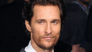 """LONDON, ENGLAND - OCTOBER 29: Matthew McConaughey attends the European premiere of """"Interstellar"""" at Odeon Leicester Square on October 29, 2014 in London, England. (Photo by Stuart C. Wilson/Getty Images)"""