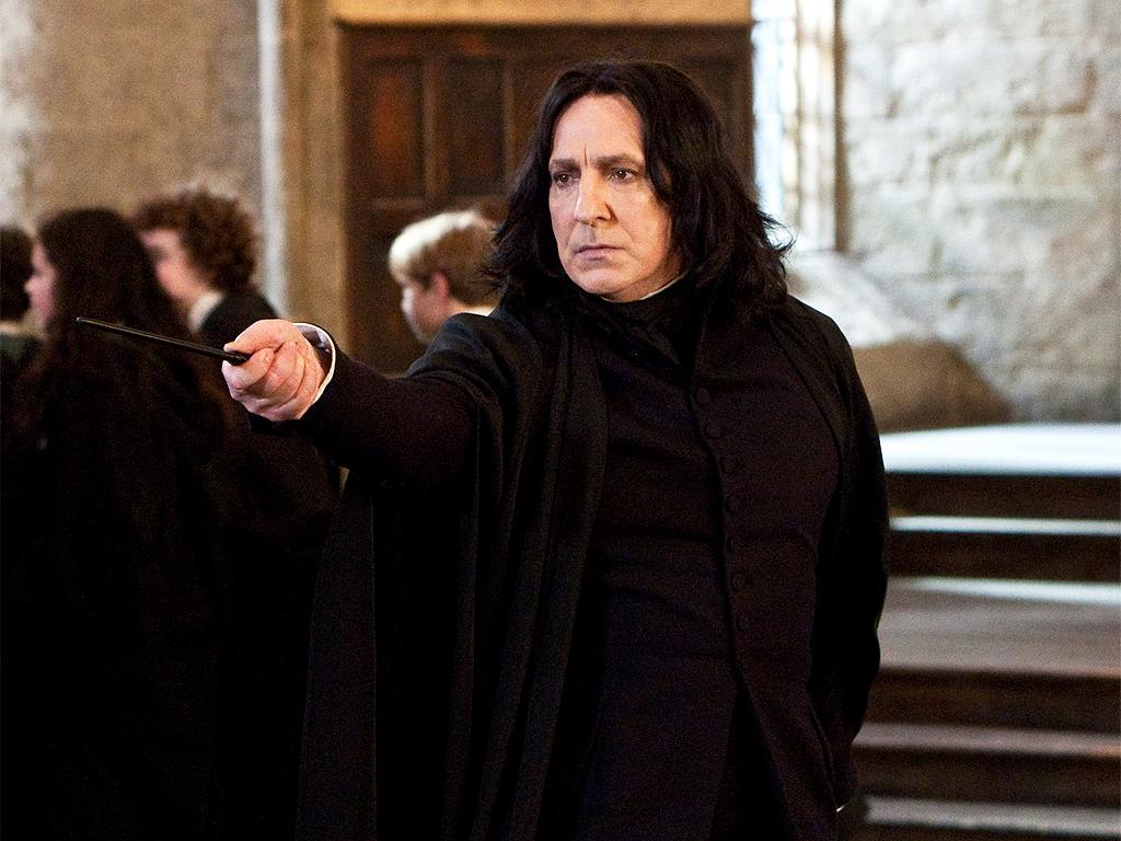 Rickman gerði persónu Professor Snape ódauðlega í Harry Potter