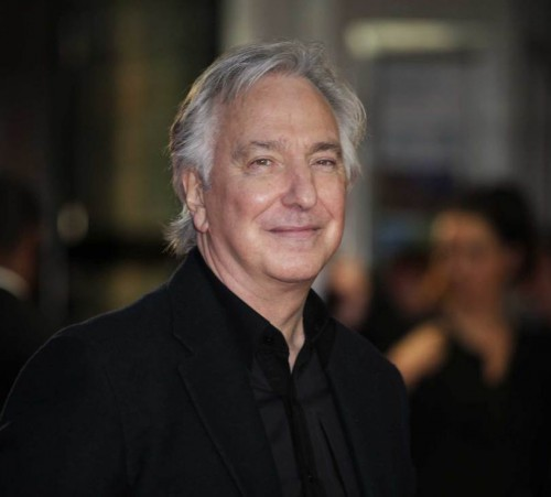 """Alan Rickman arrives to the premiere of """"A Little Chaos,"""" as part of the BFI London Film Festival, in central London, Oct. 17, 2014. Grant Pollard—Invision/AP"""
