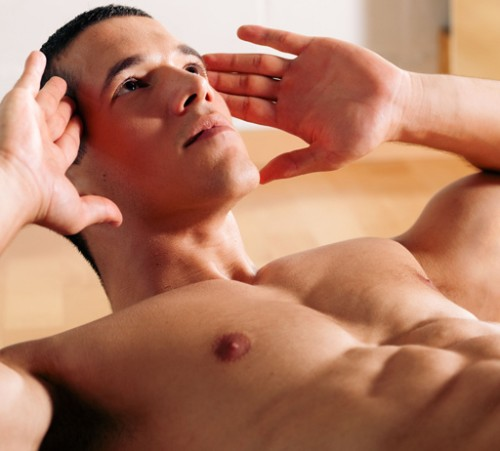 men-shaping-his-male-body