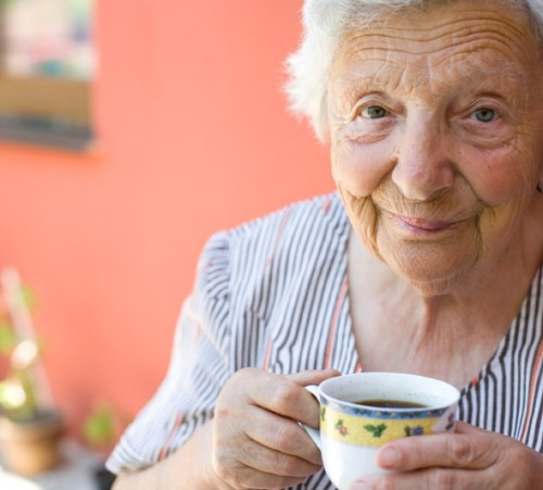 Senior-Woman-with-Coffee