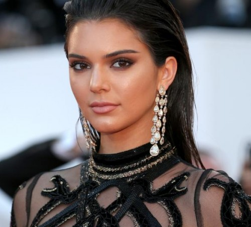 """CANNES, FRANCE - MAY 15,  Kendall Jenner wearing Chopard jewelry during the """"From The Land Of The Moon (Mal De Pierres)"""" premiere during the 69th annual Cannes Film Festival at the Palais des Festivals on May 15, 2016 in Cannes, France.  (Photo by Gisela Schober/Getty Images)"""