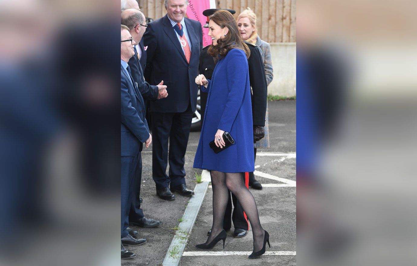 WICKFORD, ENGLAND - FEBRUARY 07: Catherine, Duchess Of Cambridge arrives to open the Action On Addiction Community Treatment Centre in Essex on February 7, 2018 in Wickford, England. (Photo by Stuart C. Wilson/Getty Images)