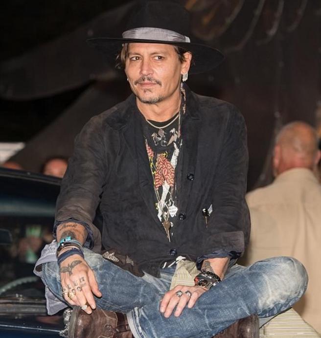 Johnny á Glastonbury árið 2017