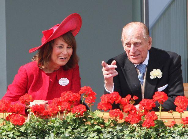Carol Middleton og Philip prins