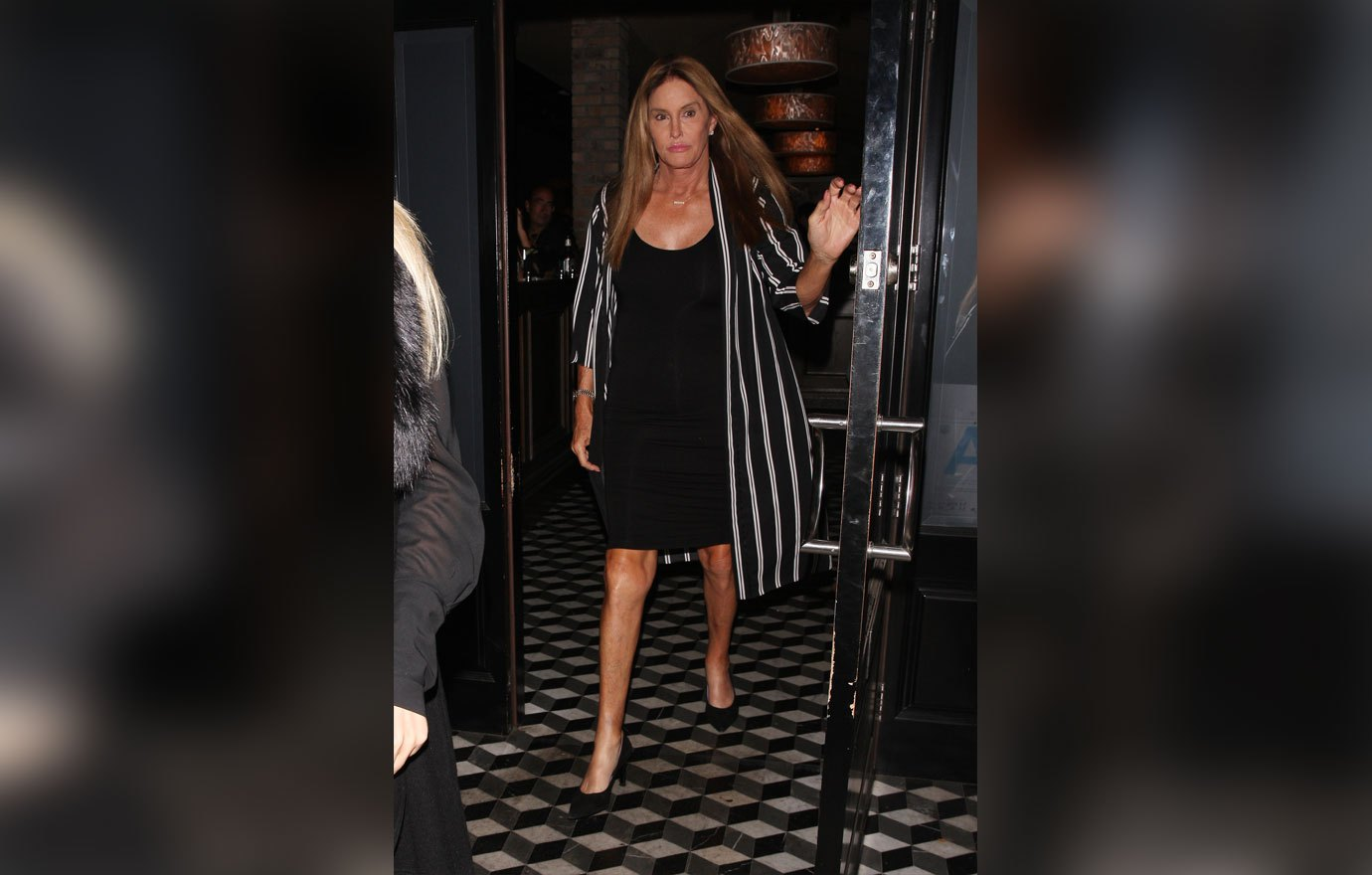 Caitlyn Jenner and rumored girlfriend Sophia Hutchins are spotted leaving Craig's Eatery after having dinner in West Hollywood. 23 Aug 2018 Pictured: Caitlyn Jenner And Sophia Hutchins. Photo credit: MEGA TheMegaAgency.com +1 888 505 6342 (Mega Agency TagID: MEGA266042_001.jpg) [Photo via Mega Agency]