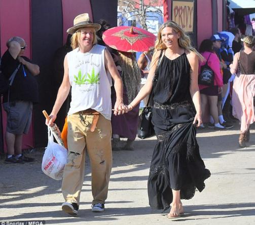 Michael og Stephanie