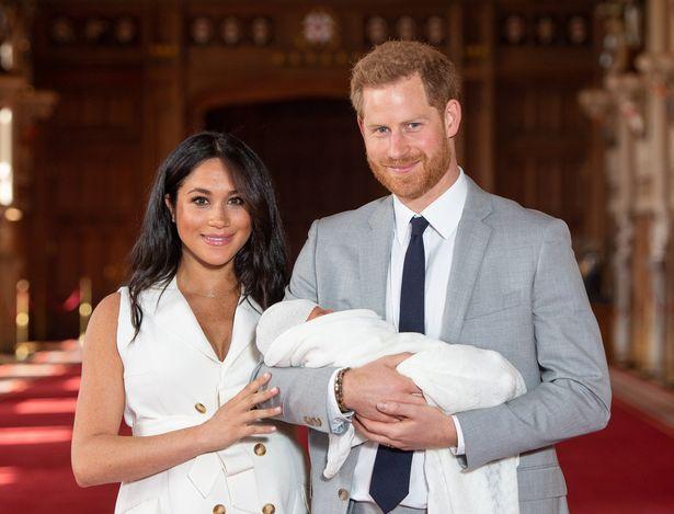 Meghan, Harry og Archie