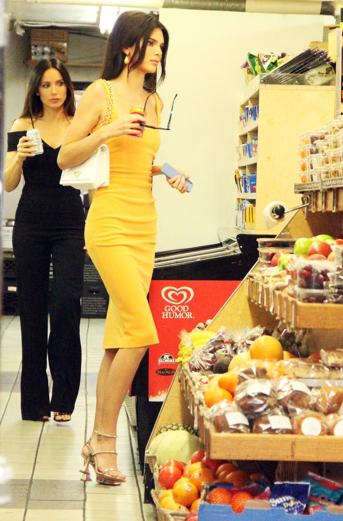 Kendall Jenner í New York þann 17. júní