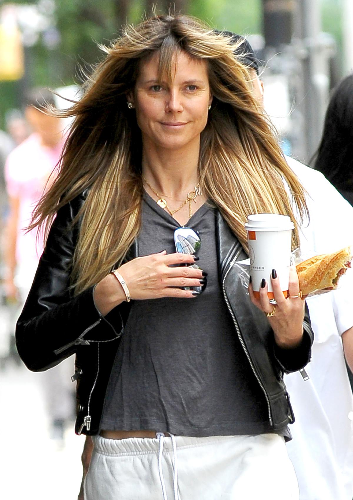 Heidi Klum þann 3. júní í New York