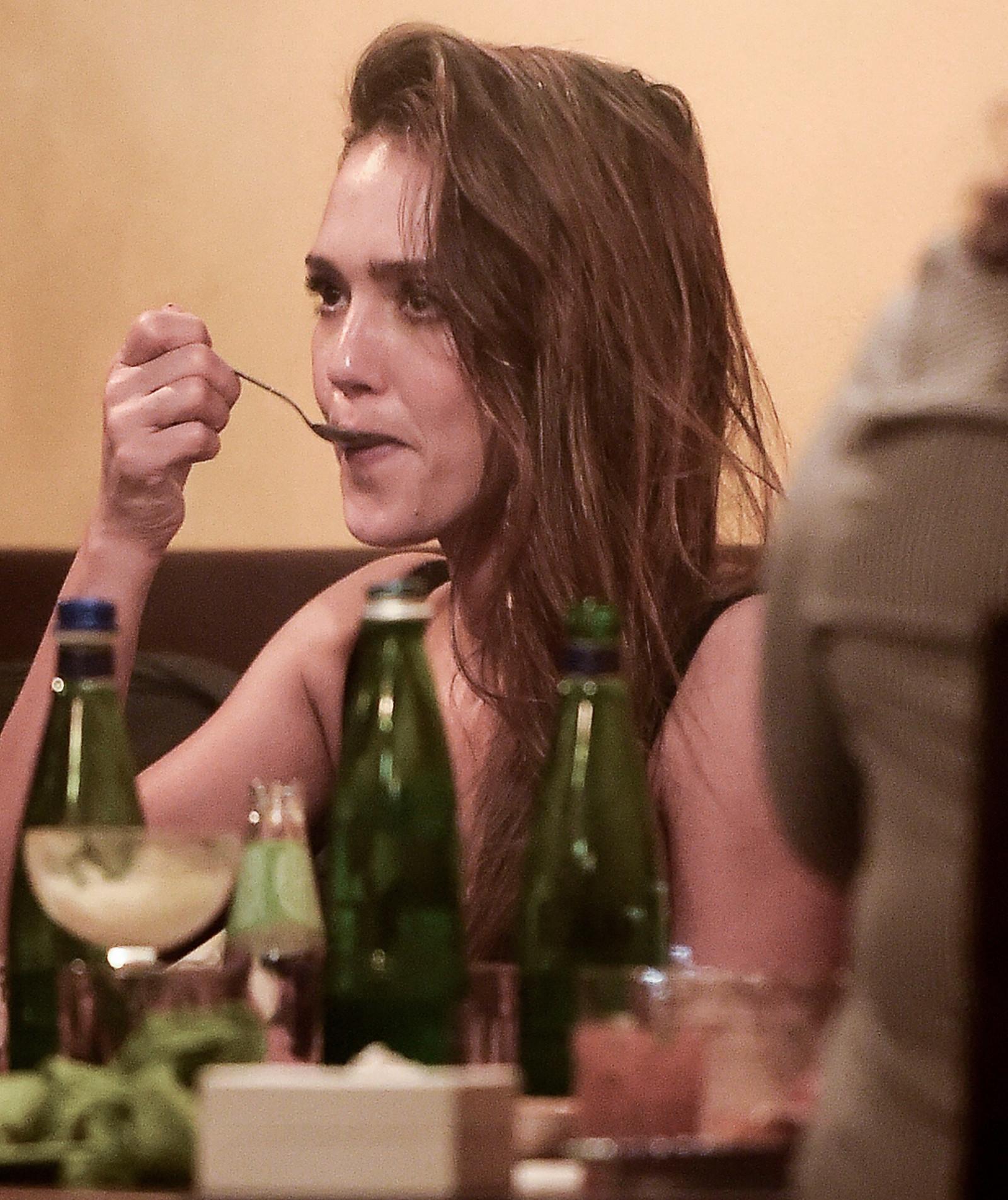 Jessica Alba þann 18. júní á Ítalíu