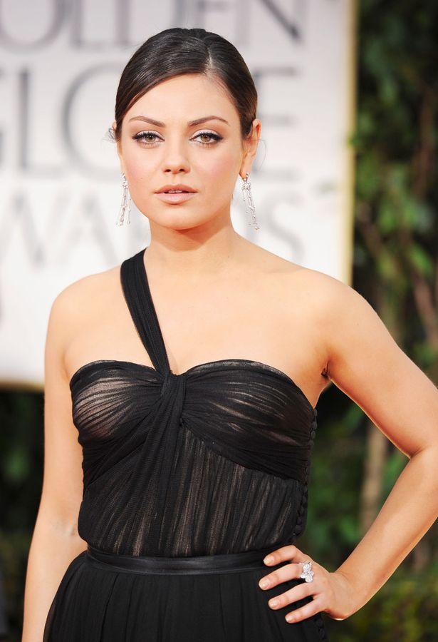 Mila á Golden Globes 2012
