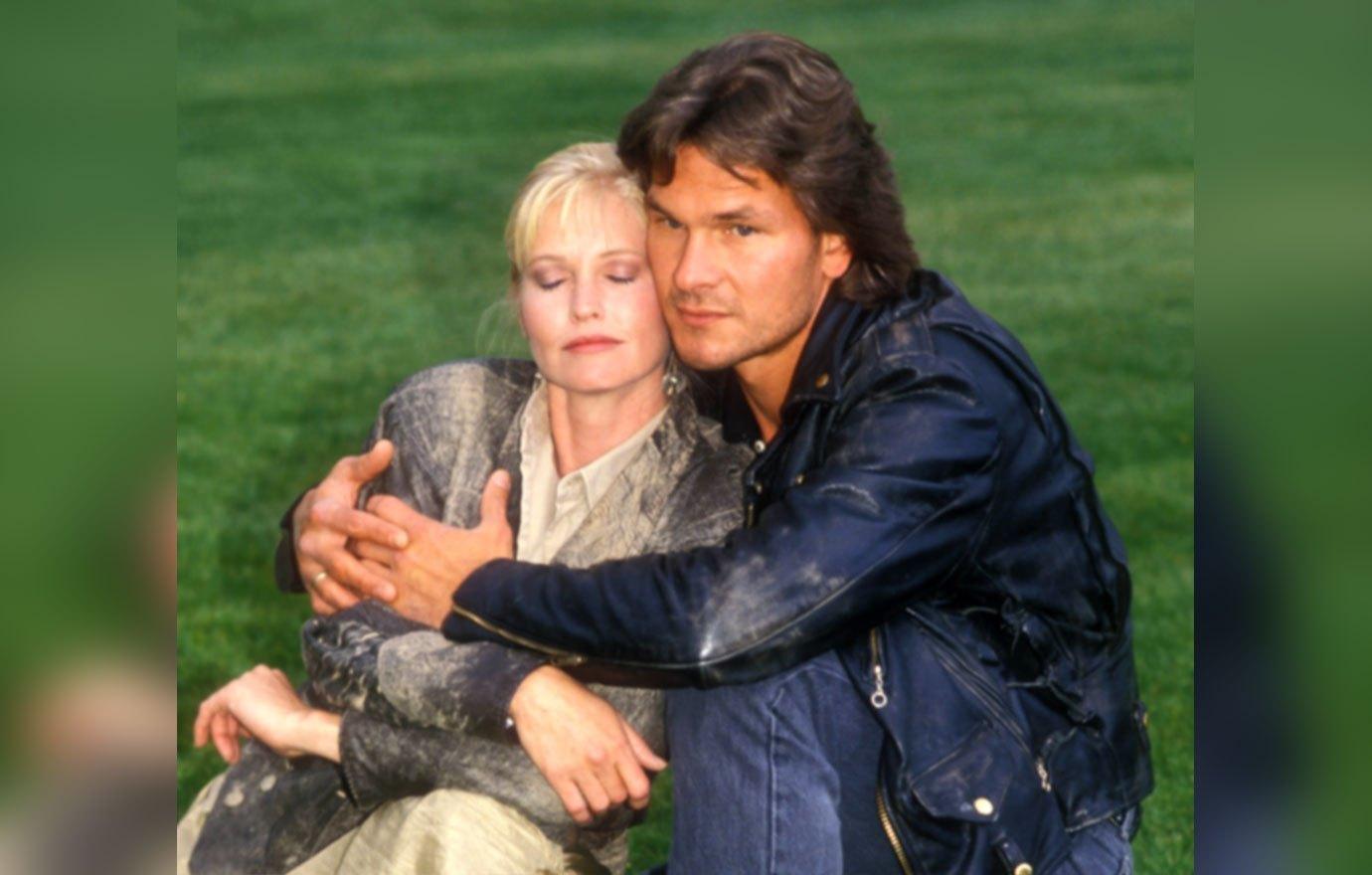 Patrick Swayze with Wife Lisa Niemi 1988