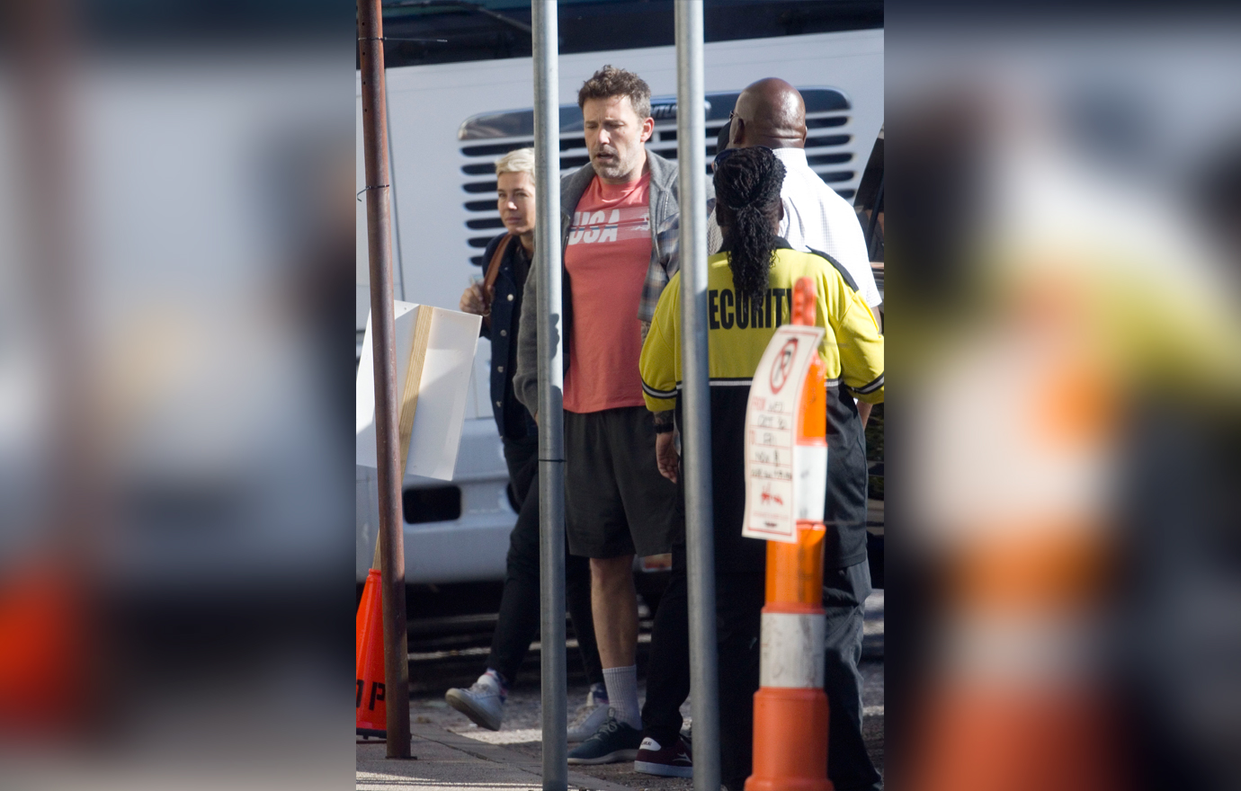 EXCLUSIVE: Ben Affleck shows off his patriotic spirit as he is seen wearing a USA t-shirt on Veteran's Day